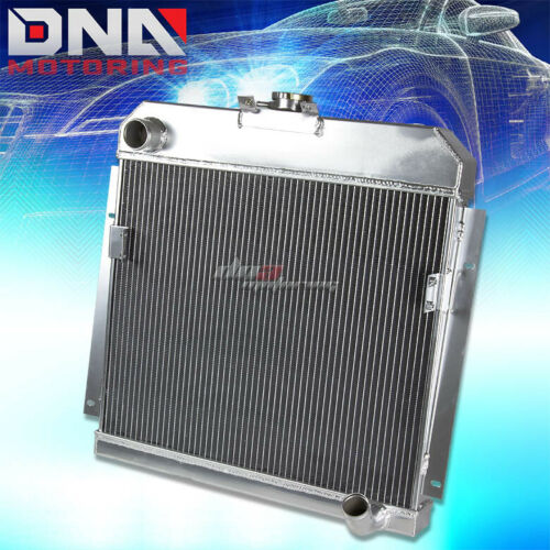 FOR 53-54 DODGE ROYAL PANEL PICKUP TRUCK THREE ROW//CORE ALUMINUM RACING RADIATOR