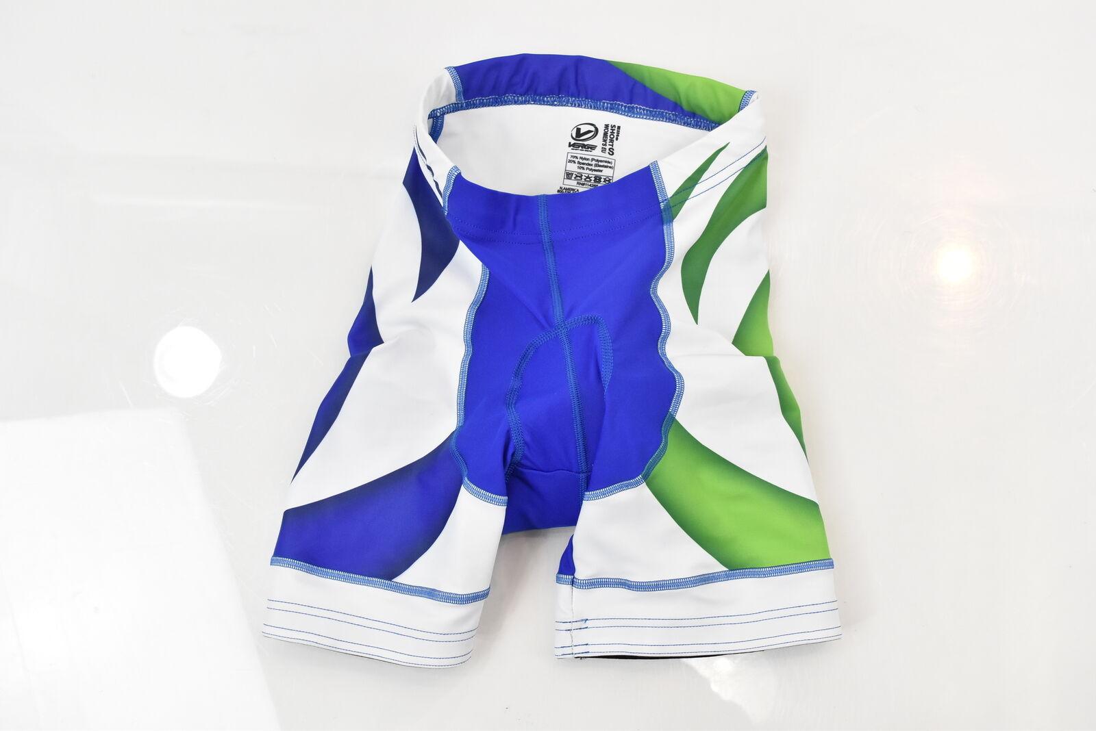Verge lactic Acid Racing Girl elite euro bicicletas deportes shorts verde   azules nuevos