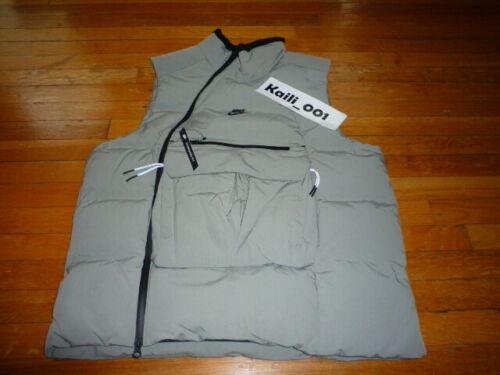 Nike Sportswear Tech Pack Down Fill Vest Stucco Black Mens