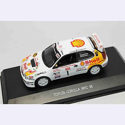 1:43 Car Model 80007 TOYOTA COROLLA WRC 98 SHELL