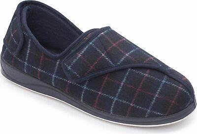 Hombre Padders 'phillip' Parte De Atrás Ajustable Corte Ancho Zapatillas Large Assortment Men's Shoes