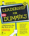 Leadership for Dummies by Marshall Loeb, Stephen Kindel (Paperback, 1999)