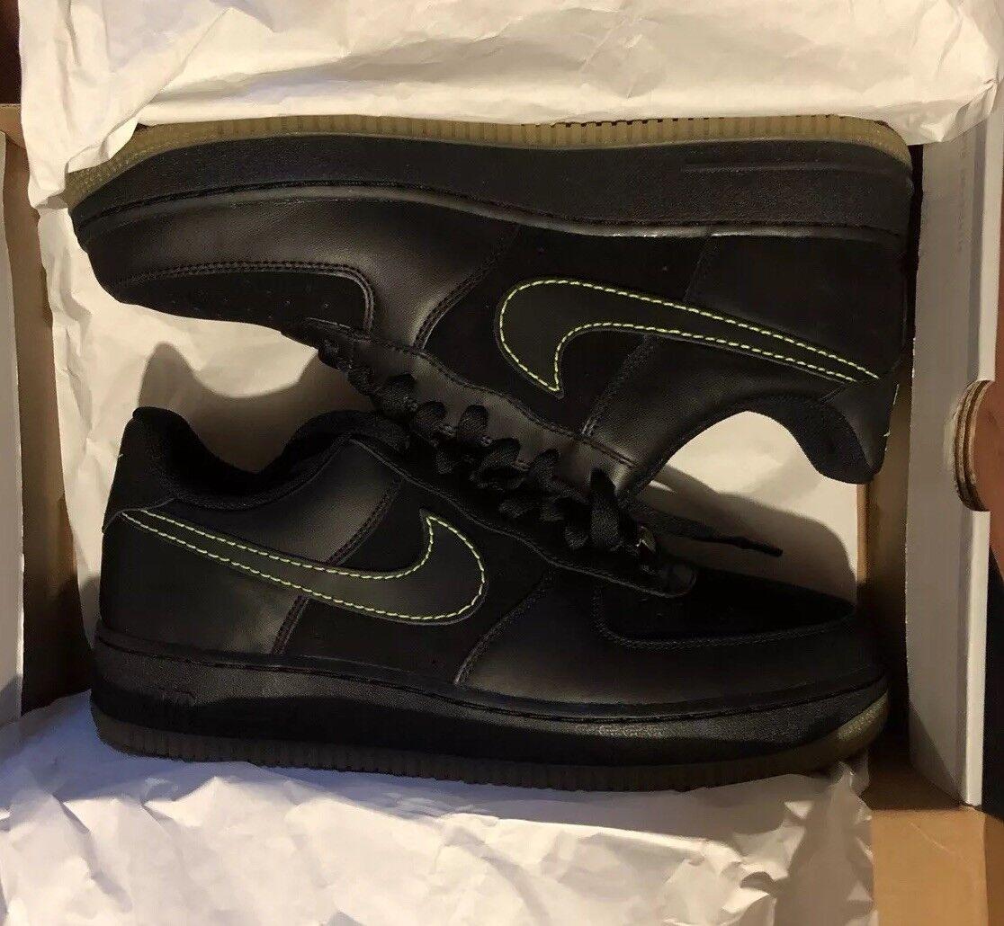 Vintage Nike VOLT Air Force 1 AF1 07 size 10 Limited Edition Premium Very RARE