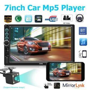 7-Zoll-2Din-BT-Stereo-Auto-Multimedia-MP5-Player-FM-Radio-Freisprecheinrichtung