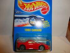 Hot Wheels #262 Red Camaro w/Ultra Hot Wheels White Interior White Logo