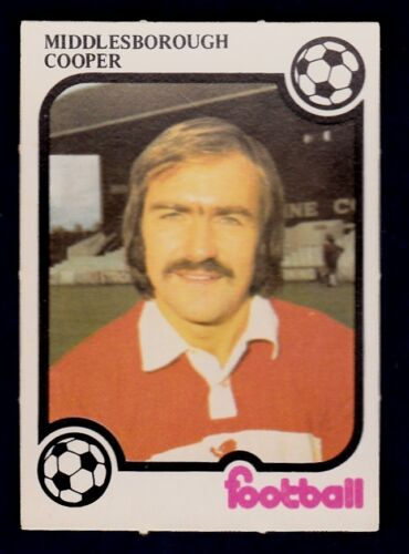 MONTY GUM 1975//76-MIDDLESBROUGH-LEEDS UNITED /& ENGLAND-TERRY COOPER