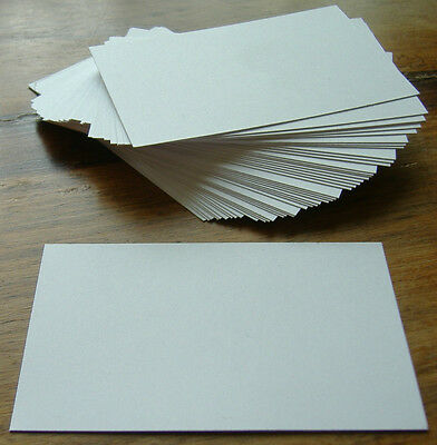 100 x White Blank Business Cards 250gsm 55 x 85mm Print your own