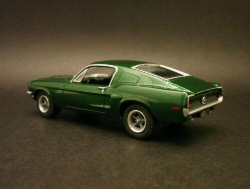 Bullitt/' 68 FORD MUSTANG GT scuro-verde 1968 *** Greenlight 1:64 OVP