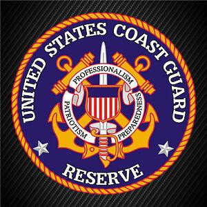 US Coast Guard Seal Vinyl Decal Sticker Window Wall Car