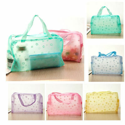 Portable Makeup Cosmetic Toiletry Travel Wash Toothbrush Pouch Bag Organizer New