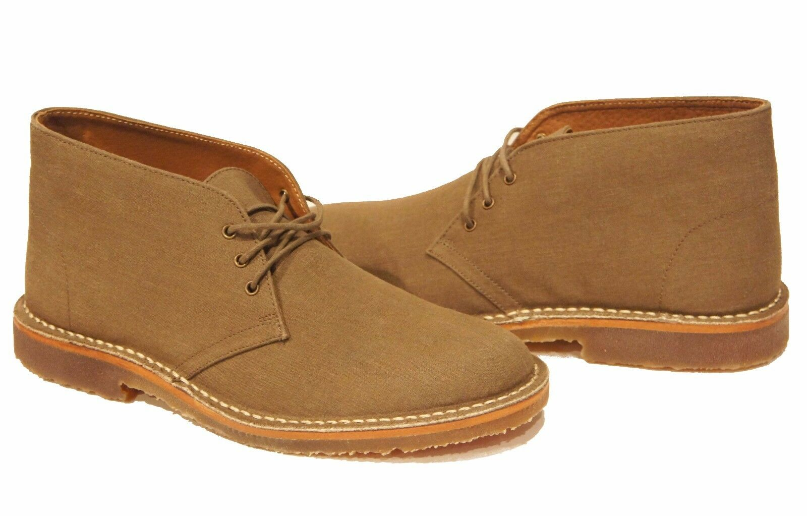 Lands' End Sustainable Gum Sole Lace Up Chukka Ankle Boot 8.5