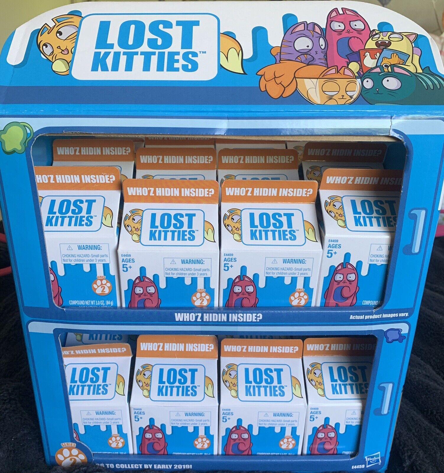 24  Lost Kitties Series 2 Who'z Hidin Inside nuovo Hasbro  No Display scatola  negozio di vendita outlet