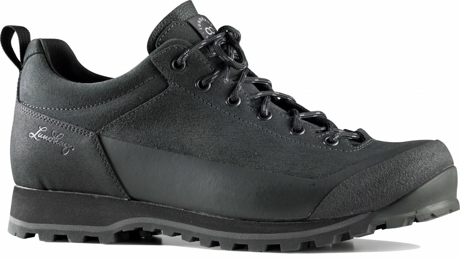 Lundhags Bjerg Ms Low Trekkingschuhe (charcoal)  | Moderne Muster
