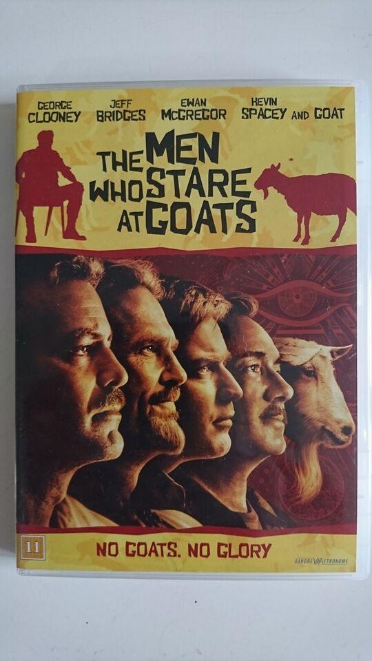 The Men Who Stare At Goats, instruktør Grant Heslov, DVD