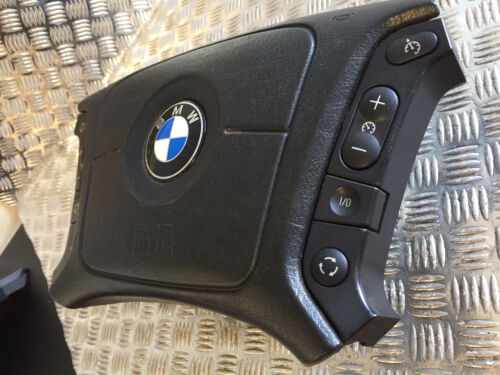 BMW E39 1995-1999 7 5 SERIES STEERING WHEEL AIRBAG WITH CONTROL BUTTONS 33109425