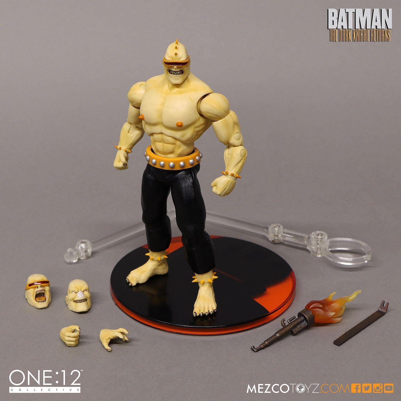 Mezco One  12 Collectif The Dark Knight Mutant leader 6  Figurine DC Comics Bathomme  produit de qualité