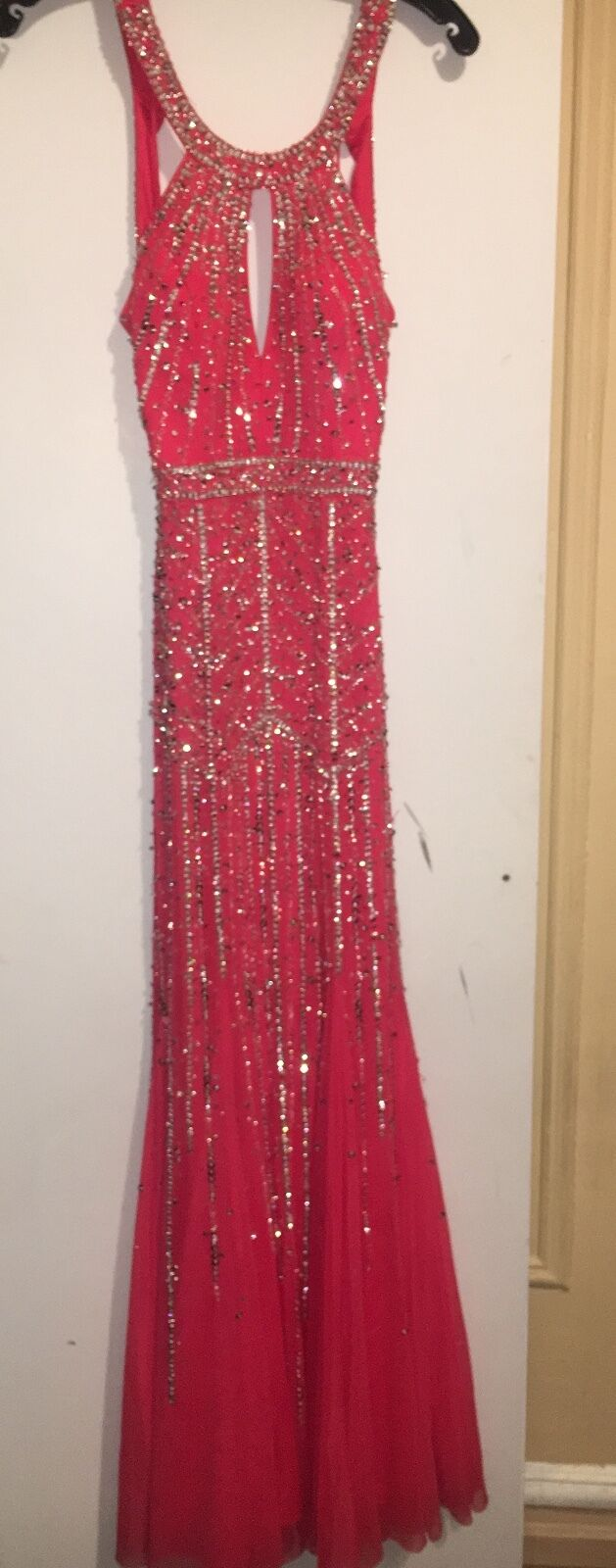Sean Couture  Coral Pink Pink Pink Dress - Size 2 - Perfect for Summer  1df305