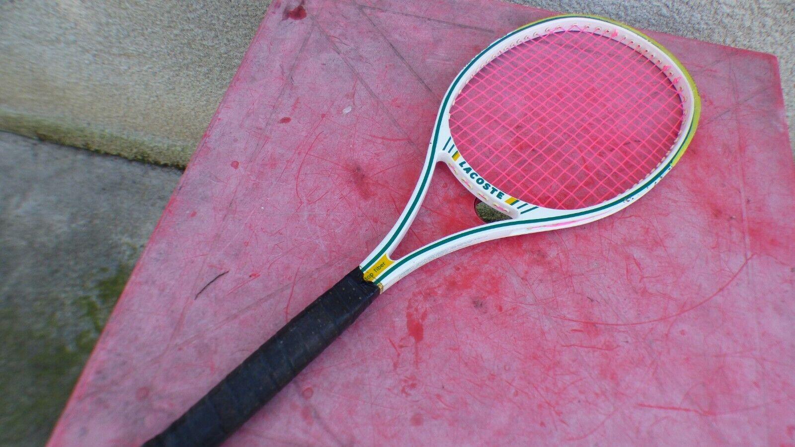 Raquette de tennis Lacoste Top Fiber vintage