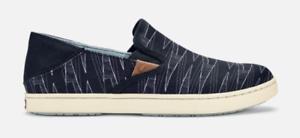 Olukai-Pehuea-Pa-039-i-Black-Kapa-Loafer-Shoe-Women-039-s-sizes-6-10-NEW