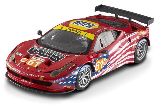 Ferrari 458 Italia GT2 LM 2012 Action Figure Corse ELITE HOTWHEELS 1 18  BCT78