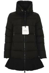 new moncler viburnum black nylon goose down parka puffer jacket coat rh ebay com