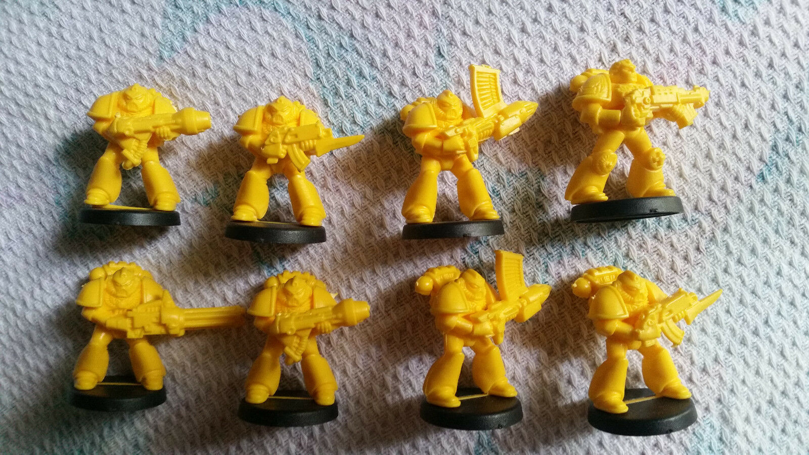 Space Crusade  8x Imperial Fists Space Marines