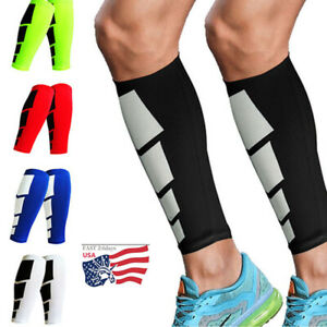 Calf-Support-Leg-Socks-Running-Sports-Gym-Compression-Sleeve-Splint-Shin-Brace