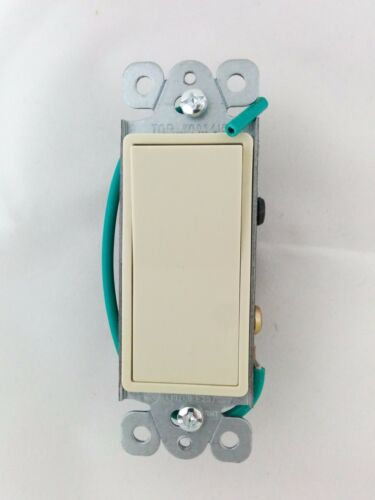 5 pc NEW 4-Way Decorator Switch 4 Way Decora Rocker Switches Ivory