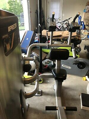 precor icarian ab select prized abdominal weight stack gym