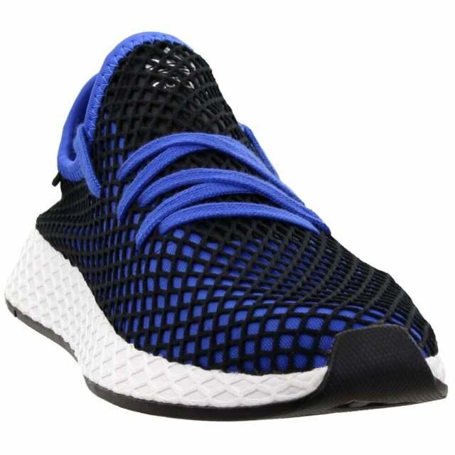 adidas B41764 Mens 10 Deerupt Runner Lifestyle Shoes Blue