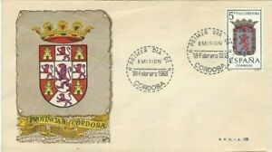 FDC-Erste-Dia-Spanien-1963-Wappen-Cordoba
