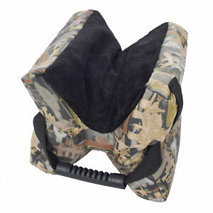 Hunter-Sand-Bag-Ultimate-Unfilled-Shooter-039-s-Gun-Rest-Shooting-Bench-Steady-Rifle