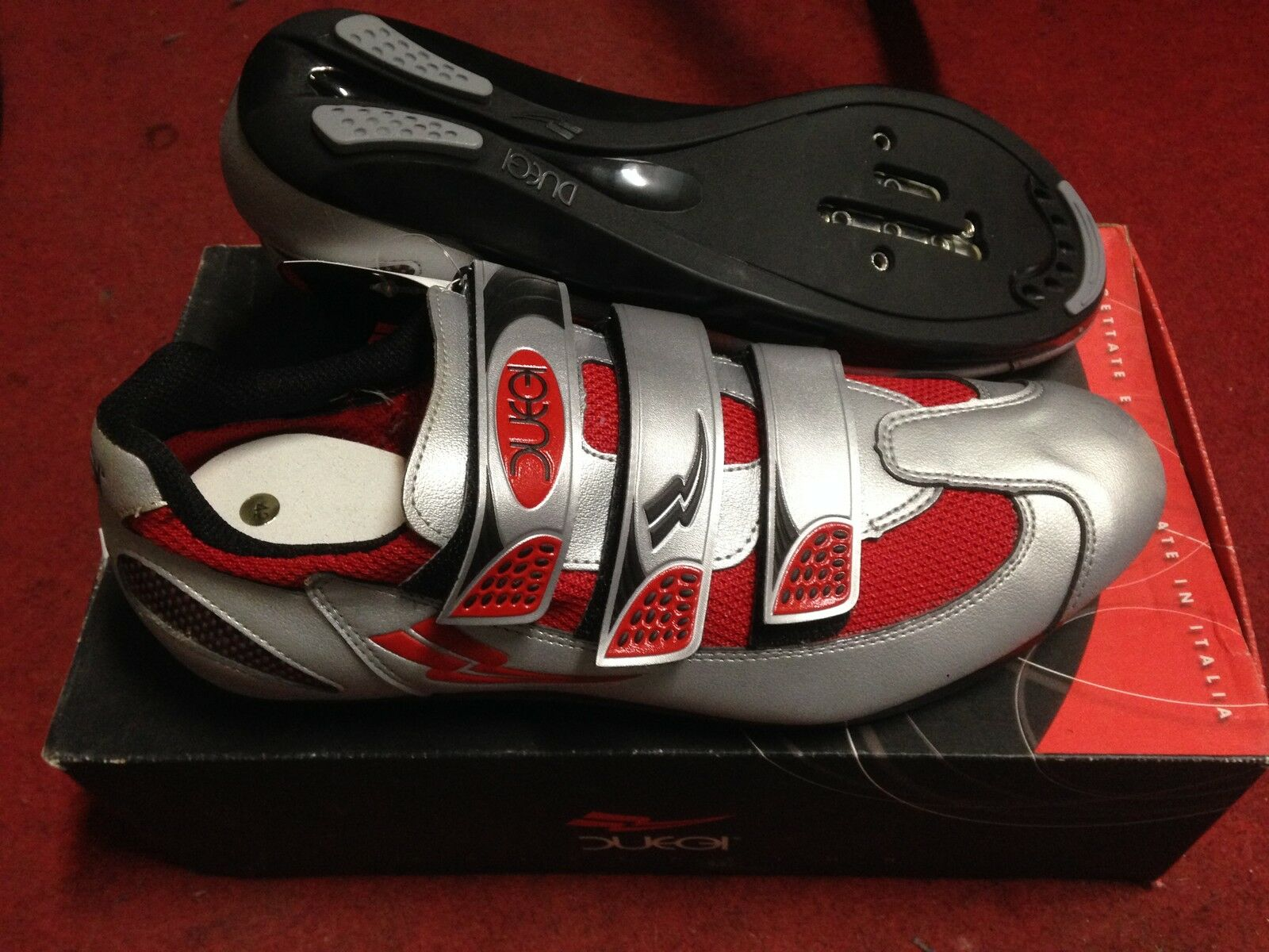 shoes bike race Duegi  Carbon Line Road Bike shoes 37,38,39,42 Made in   ultra-low prices