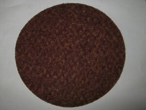 "Unknown Manufacturer 7"" Surface Conditioning Sanding Disc, Red, Coarse, New"