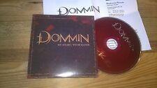 CD Metal Dommin - My Heart, Your Hands (1 Song) Promo ROADRUNNER cb Presskit