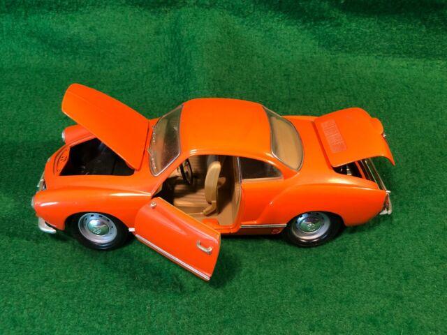 Road Legends 1966 Volkswagen KARMANN GHIA Diecast Model Toy Car 1:18 FOR PARTS