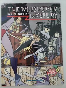 THE WHISPERER MYSTERY GRAPHIC NOVEL by DANIEL TORRES ROCCO VARGAS 2 CATALAN 1990