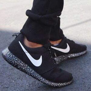 Nike Roshe Fond Noir Speckle