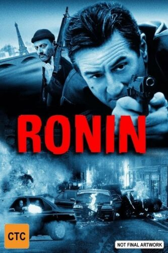 1 of 1 - Ronin - DVD VERY GOOD CONDITION FREE POSTAGE AUSTRALIA REGION 4