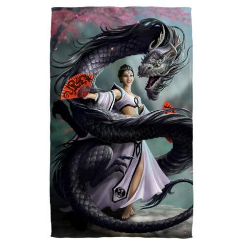 Anne Stokes Fantasy Art DRAGON DANCER Lightweight Beach Towel