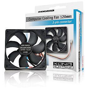 CPU-Fan-Computer-Fan-Ventilator-Systeem-Koeler-120-X-120-X-20-mm