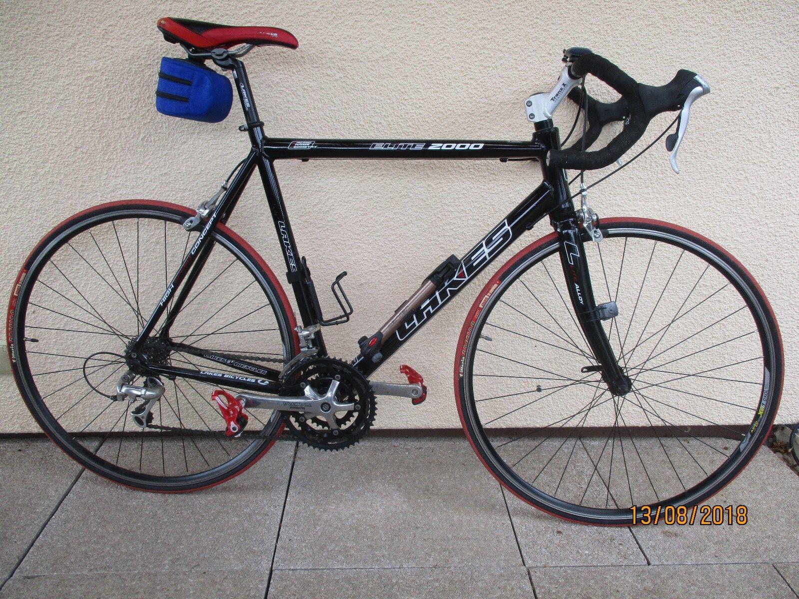 Herren Rennrad  Elite 2000 schwarz 28, gebraucht, 54 Rahmen, 27 Gänge    Sale Deutschland