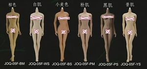 JIAOU-DOLL-1-6-Flexible-European-Female-Big-Bust-Body-Action-Figure-W-Foot