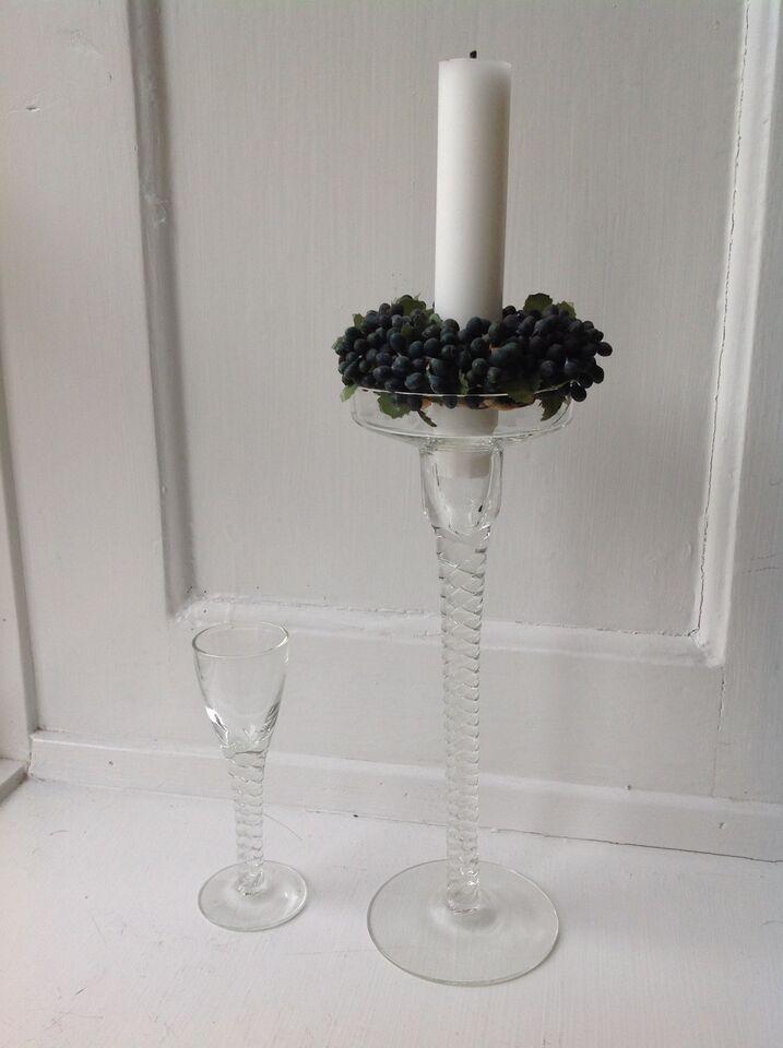 Glas, Twist glas, Holmegaard Twist