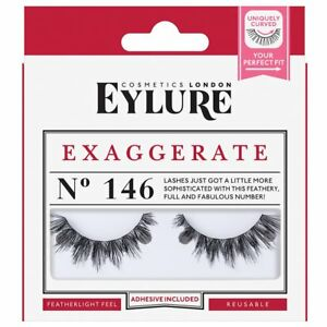 83cd4b48138 Eylure Exaggerate No 146 Lashes 5011522129068 | eBay