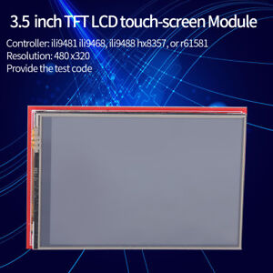 Details about 3 5'' TFT LCD Display Arduino Touch Screen Module Board  480x320 Plug and Play im