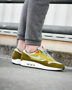 competitive price 1ff00 65045 Image is loading NEW-Nike-Air-Max-1-Premium-Retro-GREEN-
