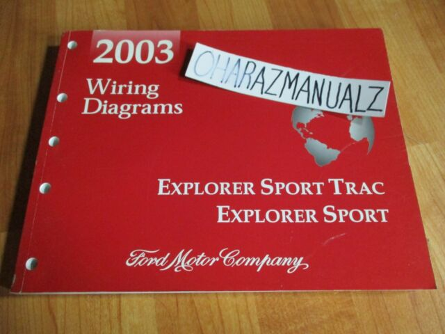 2003 Ford Explorer Sport Trac    Explorer Sport Wiring