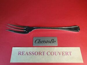 Fork-Service-Christofle-Herringbone-24-5-cm-Very-Bel-Condition-Metal-Silver