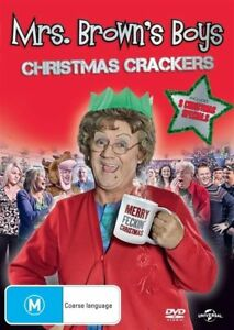 Mrs-Brown-039-s-Boys-Christmas-Crackers-DVD-New-Sealed-Region-2-4-5